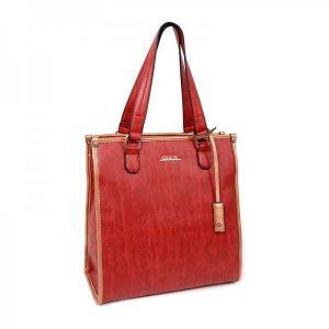 Dámská kabelka Doca 12973 – červená