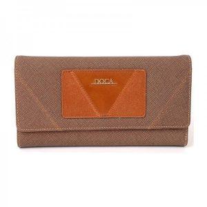 Dámská peněženka Doca 64753 – hnědá