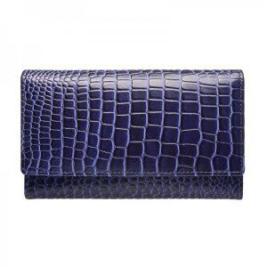 Dámská kožená peněženka Lagen Ema – fialová