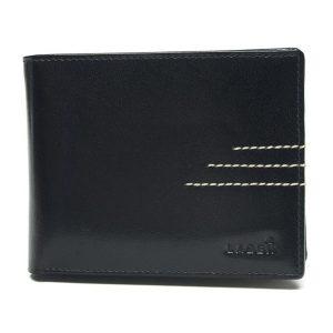 Pánská kožená peněženka Lagen 64666/C – černá