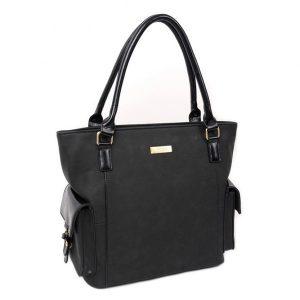 Dámská kabelka Doca 13022 – černá