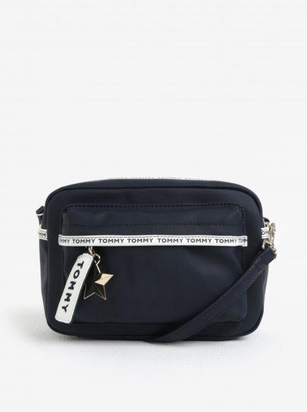 b5feda1b5c Tmavě modrá crossbody kabelka s hvězdou Tommy Hilfiger