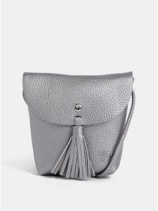 Crossbody kabelka ve stříbrné barvě Tom Tailor Denim Ida