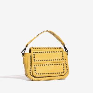 Žlutá kabelka se cvočky 30271
