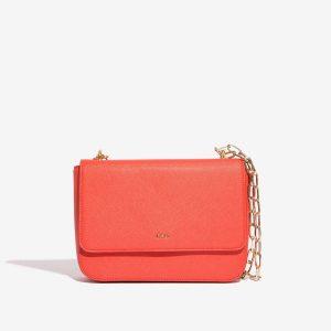 Korálová kabelka – Saffiano 30280