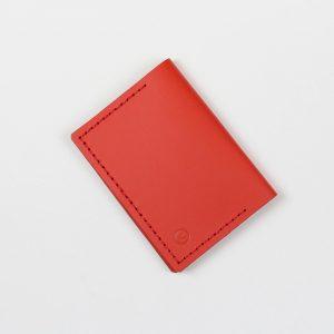Kožená peněženka – Double Wallet – červená 31123