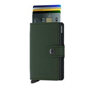 Zelená peněženka Miniwallet Matte 43458