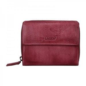 Dámská kožená peněženka Lagen Miriam – fialová