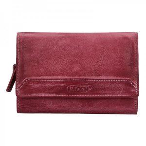 Dámská kožená peněženka Lagen Denisa – fialová