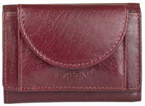Lagen Kožená peněženka W-2030 Red