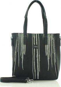 Černá nákupní taška FURRINI (e264a) Velikost: univerzální