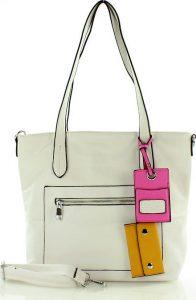 Bílá nákupní taška FURRINI (e287c) Velikost: univerzální