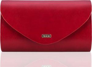 Dámské matné červené psaníčko FELICE (F15 RED MATTE) Velikost: univerzální