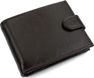 SOLIER Pánská hnědá peněženka (SW03 BROWN CLASP) Velikost: univerzální
