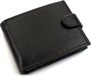 Elegantní peněženka SOLIER (SW03 BLACK) Velikost: univerzální