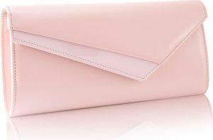 Večerní světle růžová kabelka FELICE (F17 LIGHT PINK) Velikost: univerzální
