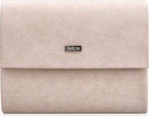 Dámské matné růžové psaníčko FELICE (F14 POWDER MATTE) Velikost: univerzální