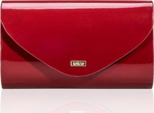 Kabelka psaníčko FELICE Clutch (F15 DARK RED SHINY) Velikost: univerzální
