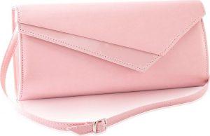 Večerní tmavě růžová kabelka FELICE (F17 DARK PINK) Velikost: univerzální