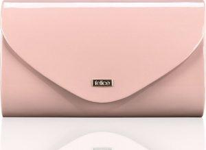 Lesklé růžové psaníčko FELICE Clutch (F15 PINK SHINY) Velikost: univerzální