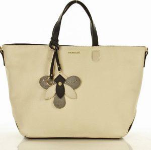 MONNARI Béžová shopper kabelka (0030b) Velikost: univerzální