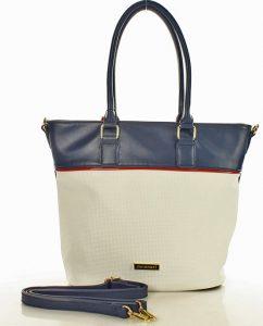 MONNARI Modro-smetanová kabelka (3040a) Velikost: univerzální
