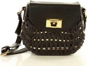 Černá proutěná kabelka MONNARI (0340a) Velikost: univerzální