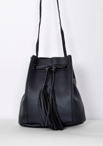 BASIC Černá kabelka přes rameno – TR115 Velikost: univerzální