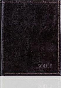 SOLIER Pánská hnědá peněženka (SW07 PASSPORT brown) Velikost: univerzální