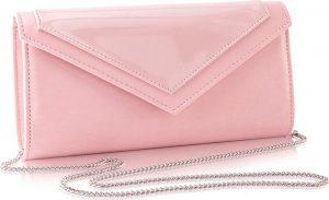 Tmavě růžová večerní kabelka FELICE (F18 DARK PINK) Velikost: univerzální