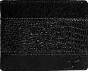 Buffalo Wild Černá pánská peněženka N7-VTC Velikost: univerzální