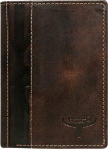 Buffalo Wild Hnědá pánská peněženka N4-HP-F Velikost: univerzální