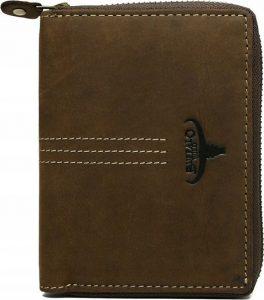 Buffalo Wild Hnědá pánská peněženka N4Z-H-3 Velikost: univerzální