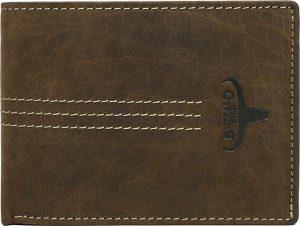 Buffalo Wild Originální hnědá peněženka N992-H-3 Velikost: univerzální