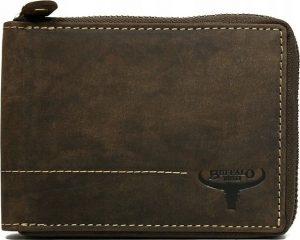 Buffalo Wild Hnědá peněženka na zip N992Z-H-1 Velikost: univerzální