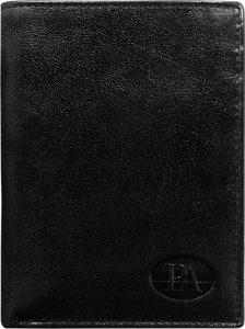 Pierre Andreus Elegantní černá peněženka PW-003-BTU Velikost: univerzální