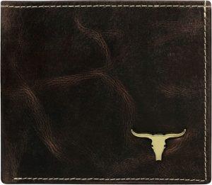 Buffalo Wild Elegantní hnědá peněženka RM-01-BAW Velikost: univerzální