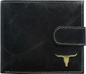 Buffalo Wild Praktická černá peněženka RM-01L-BAW RM-01-BAW Velikost: univerzální