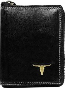 Buffalo Wild Praktická černá peněženka RM-01Z-BAW 2 Velikost: univerzální