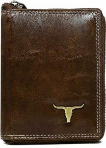Buffalo Wild Praktická hnědá peněženka RM-01Z-BAW 2 Velikost: univerzální