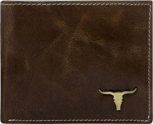 Buffalo Wild Elegantní hnědá peněženka RM-02-BAW 2 Velikost: univerzální