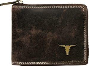 Buffalo Wild Praktická hnědá peněženka RM-02Z-BAW Velikost: univerzální
