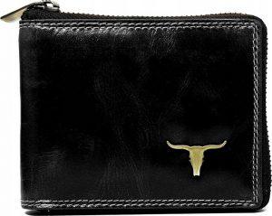 Buffalo Wild Praktická černá peněženka RM-02Z-BAW 2 Velikost: univerzální