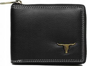 Buffalo Wild Praktická černá peněženka RM-02Z-BAW 3 RM-02Z-BAW3 BLACK RF Velikost: univerzální