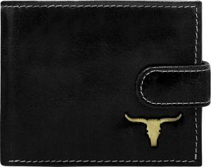 Buffalo Wild Elegantní černá peněženka RM-02L-BAW 2 Velikost: univerzální
