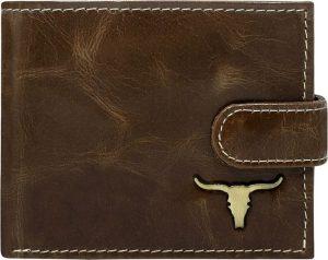 Buffalo Wild Elegantní hnědá peněženka RM-02L-BAW 2 Velikost: univerzální