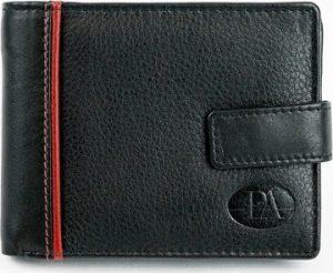 PIERRE ANDREUS Kožená černá peněženka N30257-PAK Velikost: univerzální