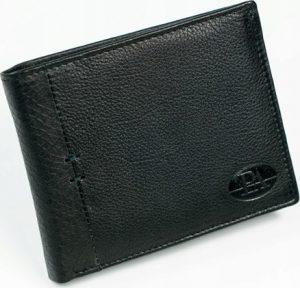 PIERRE ANDREUS Černá kožená peněženka N27661-PAK Velikost: univerzální