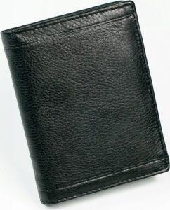 PIERRE ANDREUS Elegantní černá peněženka N1010-PAK Velikost: univerzální