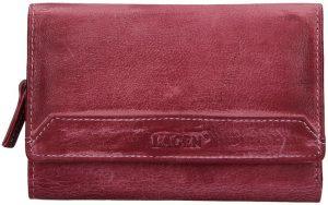 Lagen Dámská kožená peněženka LG-11/D Plum